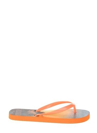 Kinetix Plaj Terliği Oranj